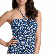 Freya Womens Ladies Madame Butterfly Underwire Bandeau Tankini Top Colbolt 3493