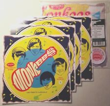 The Monkees 4 cereal box cardboard records repros NEW! Limited Edition!