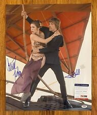 Mark Hamill & Carrie Fisher Dual Signed 16x20 STAR WARS Photo PSA/DNA COA