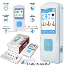 Bluetooth USB Protable Mobile ECG/EKG Recorder Cardiac Monitor Machine