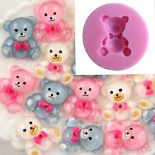 Teddy Bear Silicone Mold Cake Fondant Party Resin Craft Mould