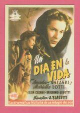 Spanish Pocket Calendar #239 One Day Of Life Film Poster