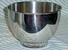"Sunbeam Small Mixer Bowl Stainless Steel 6-1/4"" Replacement"