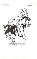 Ramsay MacDonald.Ragamuffin.Leo Cheney.Caricature.Dated 1928.Genuine.Cartoon