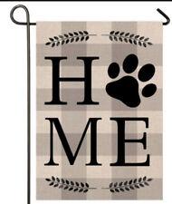 """Dog """"Home� Garden Porch Flag Garden Outdoor Yard Decorative Home Flags 12.X18"""""""