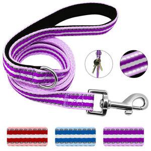 5ft Soft Padded Reflective Dog Leash for Medium Large Dogs Outdoor Training