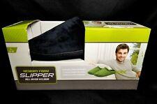 Men's Indoor-Outdoor Comfy Memory Foam Velour Slip On Slippers Sz.9-10. NIB!