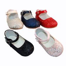 SEVVA Girls Buckle Baby Shoes