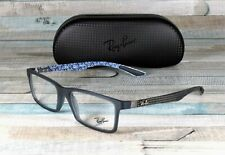 RAY BAN RX8901 5262 Demi Gloss Blue Demo Lens 55 mm Unisex Eyeglasses