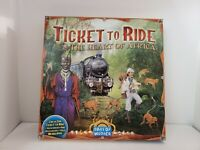 EUC TICKET TO RIDE THE HEART OF AFRICA  VOLUME 3 EXPANSION GAME  COMPLETE