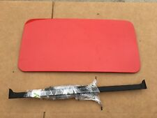 1999 - 2011 Porsche 996 997 911 Sunroof Panel + Hardware Etc. - Red - NO Cables
