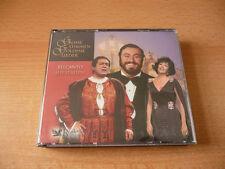 3 CD Box Grosse Stimmen Goldene Lieder - Belcanto aus Italien Luciano Pavarrotti