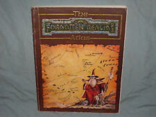 AD&D 1st Ed Accessory - THE FORGOTTEN REALMS ATLAS  (Hard to Find - RARE & EXC!)