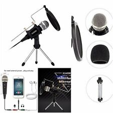 home recording studio equipment professional condenser microphone for singing