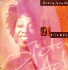 "OLETA ADAMS get here  i've got to sing my song 7"" PS EX/EX uk fontana OLETA 3"