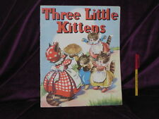 RARE! THREE LITTLE KITTENS Beauliful pictures + MUSIC