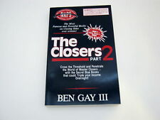 The Closers Part 2 Ben Gay III Master Closers Blue Book