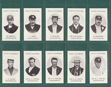 CRICKET  - TADDY WORCESTERSHIRE COUNTY CRICKETERS - SET OF 14 CARDS  -  REPRINTS