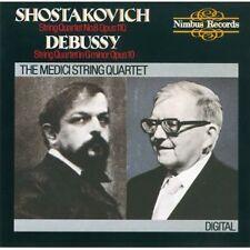 Shostakovich: String Quartet No. 8 / Debussy: String Quartet, Op. 10 Medici