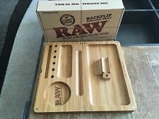 RAW Backflip  Bamboo Rolling Tray -  * Magnetic * - NEW!!