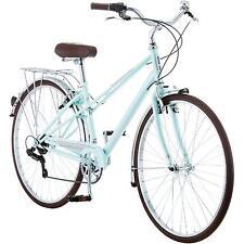 Womens Hybrid Bike City Urban Cruiser 700C Bicycle