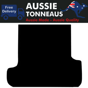 Rubber Ute Mat for Ssangyong Musso Dual Cab with Factory Liner (2018-Current)
