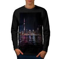 Toronto Canada Town Men Long Sleeve T-shirt NEW | Wellcoda