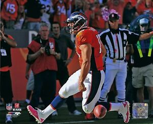 TIM TEBOW 8X10 PHOTO DENVER BRONCOS NFL FOOTBALL TOUCH DOWN