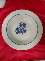 "Pfaltzgraff Yorktowne Blue Gray Rimmed Soup/ Cereal Bowl 8 1/2"" Diameter"