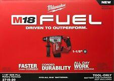 Milwaukee 2715-20 M18 Fuel 1 1/8 Special Delivery Service Plus Rotativo Martillo Perforador nueva herramienta desnudo