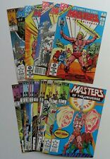 Star Comic Masters Of The Universe He Man (1986) 1-13 Lot Complete Series + more