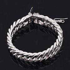 White Gold Love & Hearts Chain Fashion Bracelets