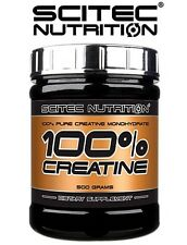 Scitec Nutrition 100% Creatine Monohydrate 300g powder - free shipping !