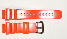 Original Casio G-Shock Rescue Gulfman G-9100R-4V Orange rubber watch band strap