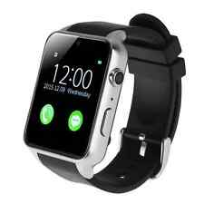 Waterproof GT88 NFC Bluetooth Smart Watch Phone Mate For iphone Sumsung Silver