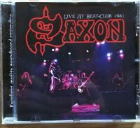 "Saxon: "" Live At Beat Club 1971"" (Raro CD)"