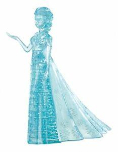 Disney Frozen Original Deluxe Blue Crystal Elsa 3D Brain Teaser Puzzle 32 Pcs