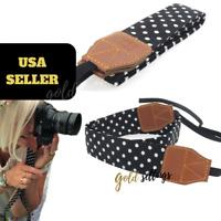 Retro Camera Strap Shoulder Neck Belt Strap  For Women SLR/DSLR Nikon Canon Sony