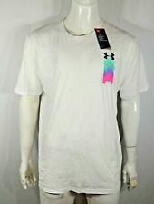 Under Armour Men's T-Shirt XL Loose fit Daze Graphic White NWT