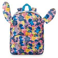 DISNEY Store BACKPACK STITCH TROPICAL EAR NWT