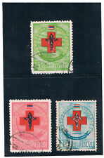 THAILAND 1953 Red Cross FU