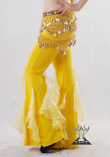 On Sale Belly Dance Dancing Trousers Costume Yoga Pants Dress Yellow