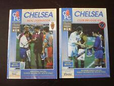 Chelsea v Real Zaragoza 1994-95 European Cup Winners Cup Semi-Final Programme