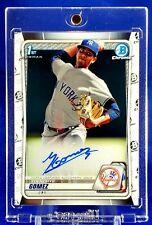 2020 Bowman Chrome Yoendrys Gomez Auto  Autograph New York Yankees