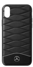 Genuine Mercedes-Benz iPhone X Cover B66958600 Black & Silver
