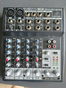 Behringer XENYX 802 Mixer in Excellent Condition