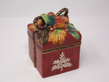 "Fitz And Floyd Classics - ""Holiday Solstice""Lidded Box"