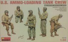 MiniArt 1/35 scale Us Ammo - loading tank crew.