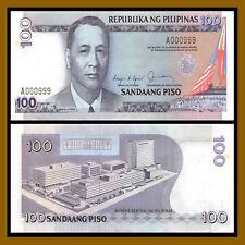 Sig# 17 Unc 4 digit serial # Philippines 500 Piso 2001 P-196a