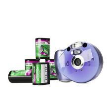 Kompakt Analogkamera Bundle mit Film